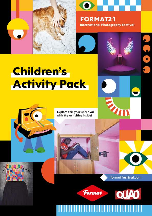 FORMAT21 Childrens Activity Pack