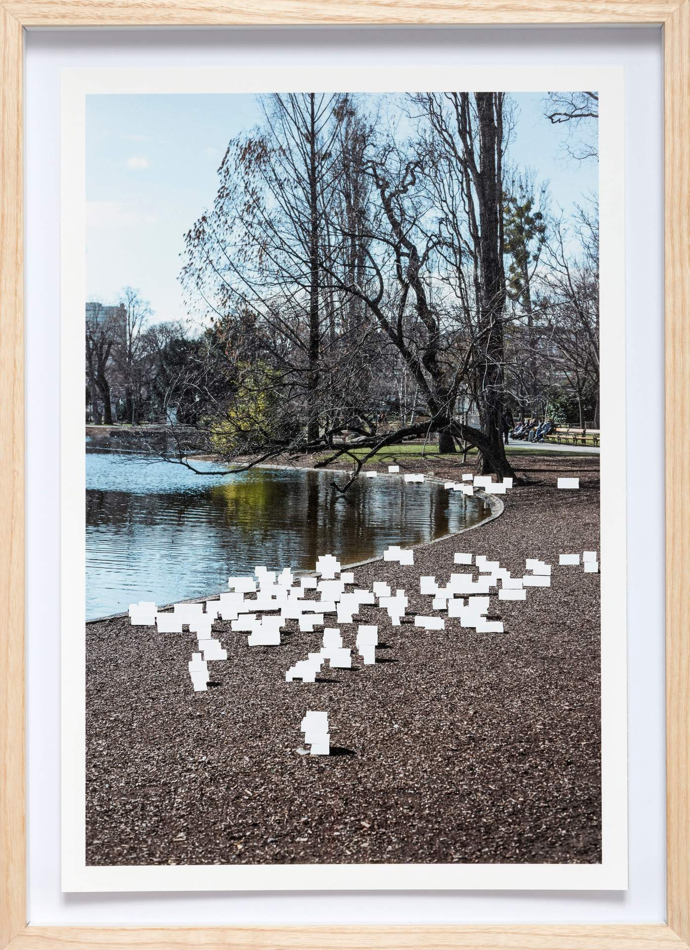 Untitled (Stadtpark) from the work Stadtluft