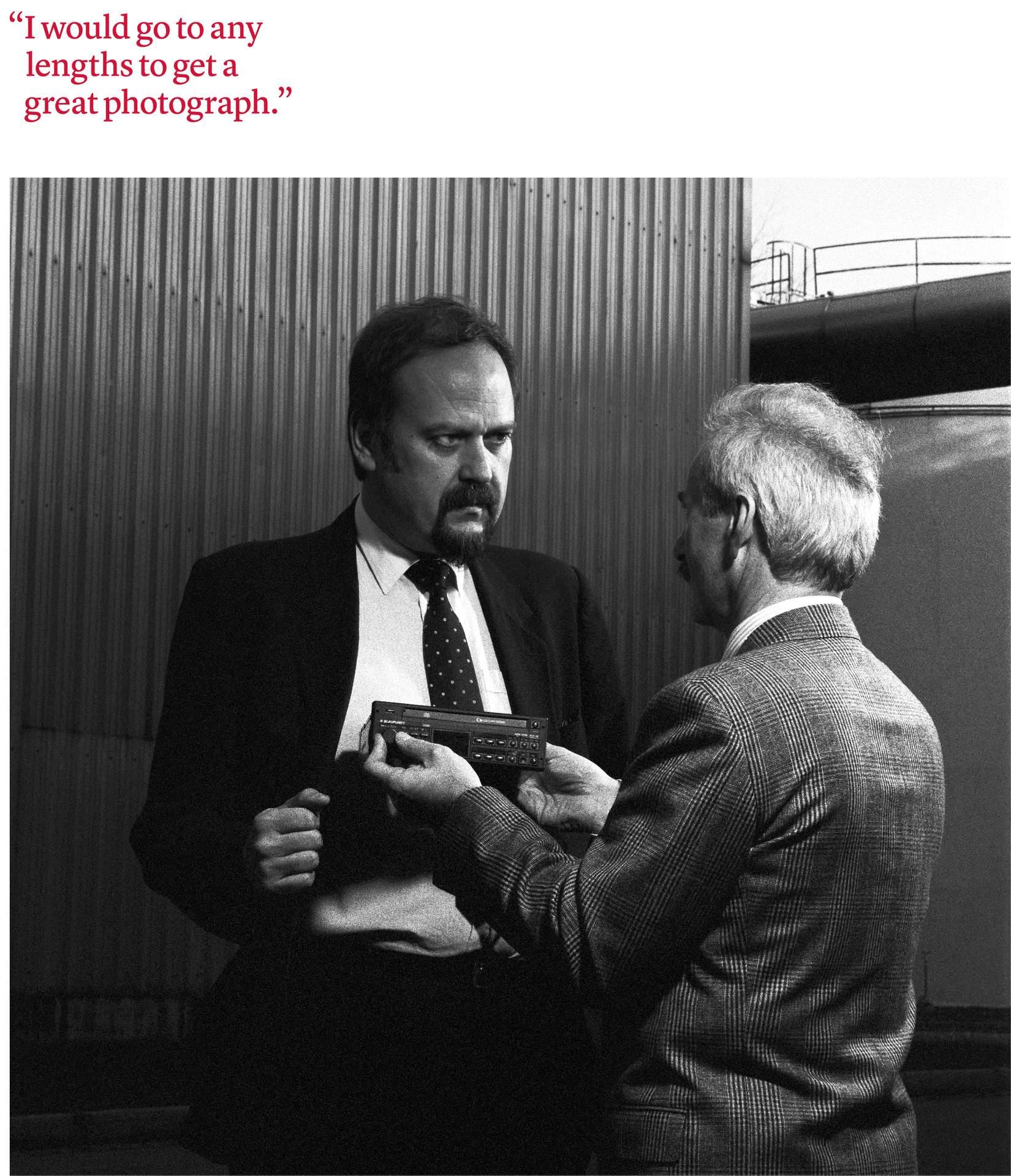 Dr. Helmut Stein, Development Manager of Automobile Radios, 1988