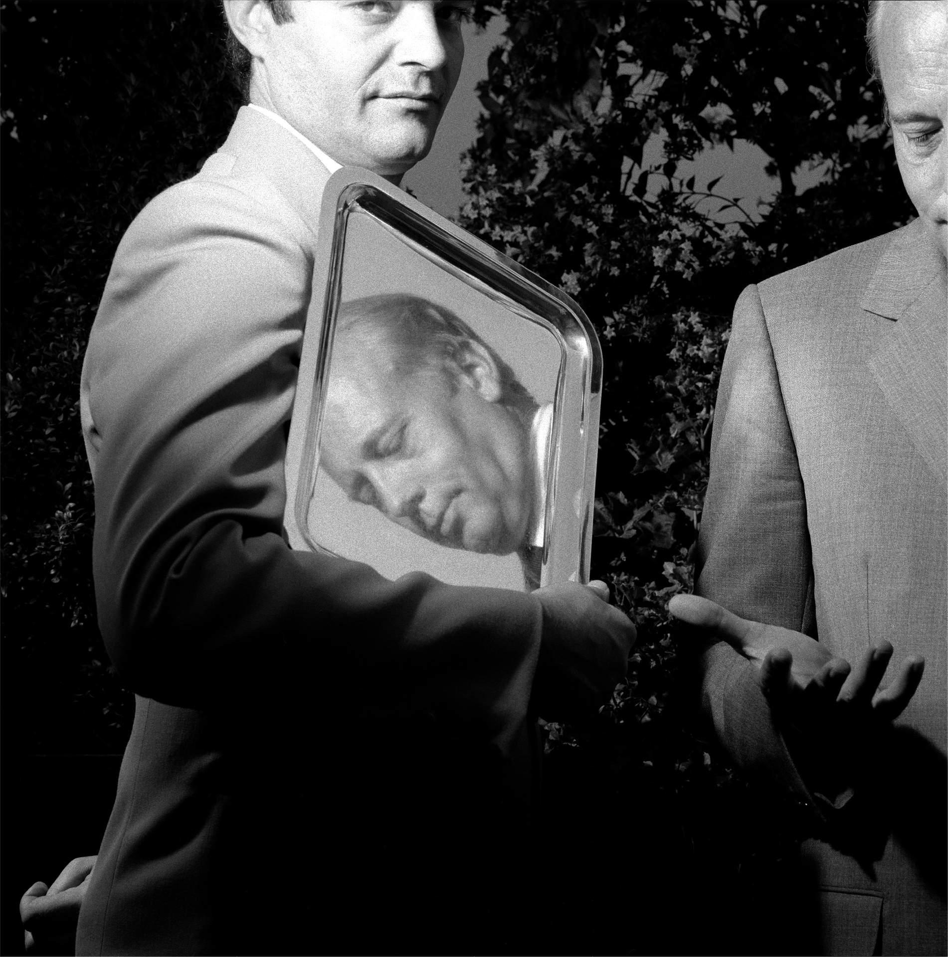 Alain Chevalier, Chairman of Moet et Chandon, 1987