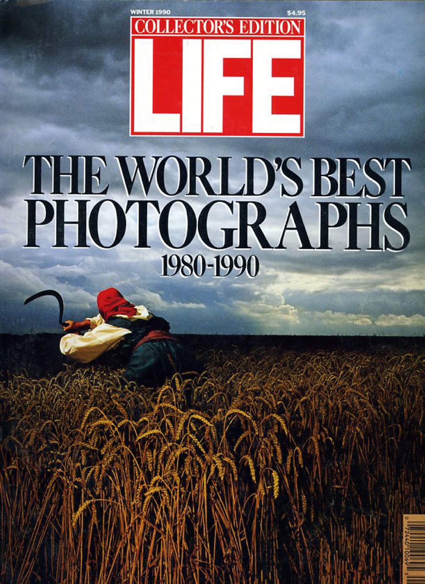 Life Magazine Front Cover, Winter 1990
