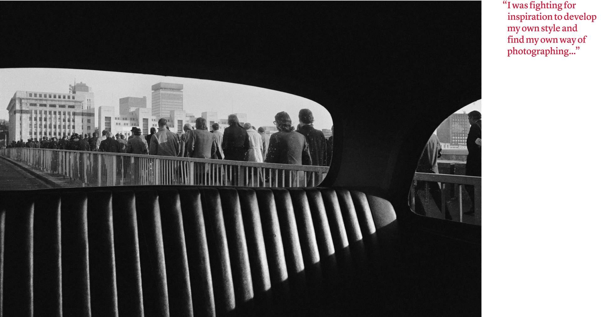 Rush Hour London Bridge, Management Today, 1974