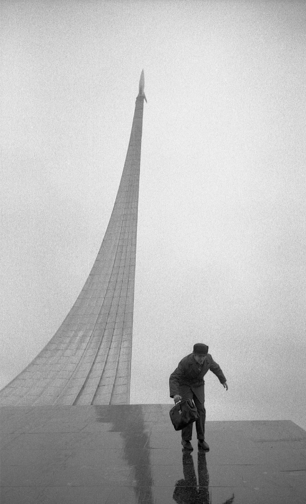 Memorial to the  Conquerors of Space,  Moscow, Russia, 1974